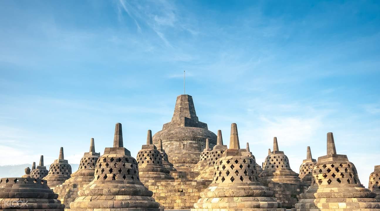 Yogyakarta pawon and mendut temples